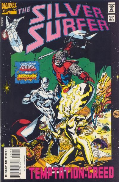 Cover for Silver Surfer (Marvel, 1987 series) #97