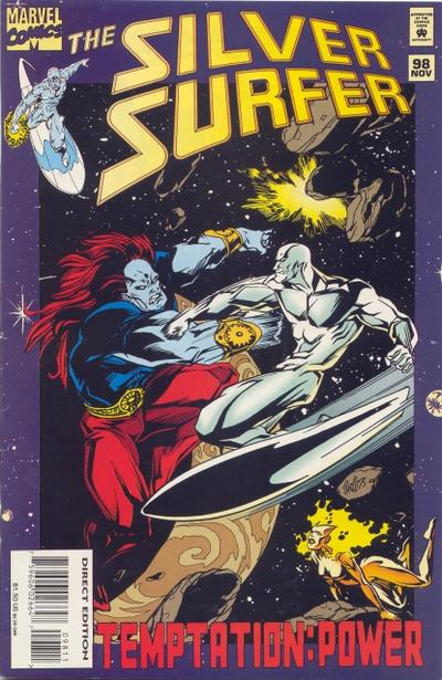 Cover for Silver Surfer (Marvel, 1987 series) #98