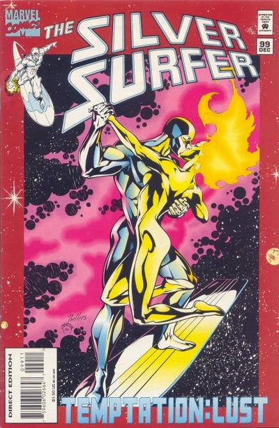 Cover for Silver Surfer (Marvel, 1987 series) #99