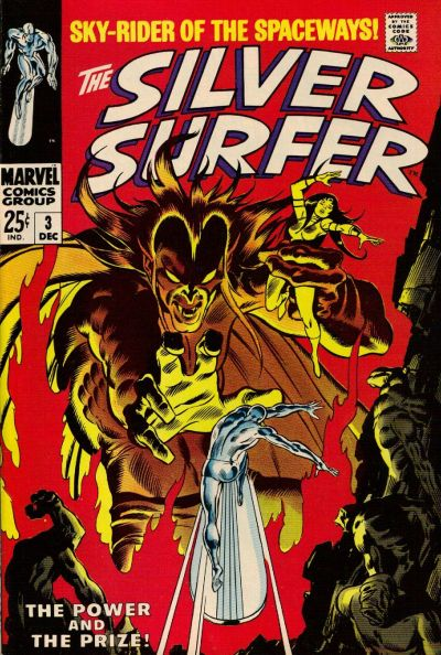 Cover for The Silver Surfer (Marvel, 1968 series) #3