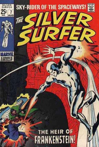Cover for The Silver Surfer (Marvel, 1968 series) #7
