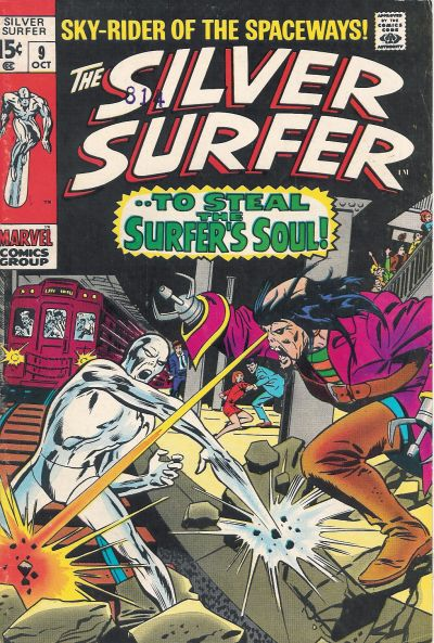 Cover for The Silver Surfer (Marvel, 1968 series) #9