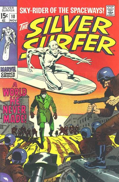 Cover for The Silver Surfer (Marvel, 1968 series) #10