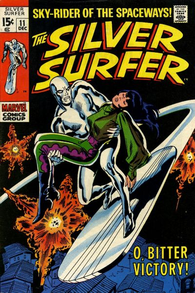 Cover for The Silver Surfer (Marvel, 1968 series) #11 [British]