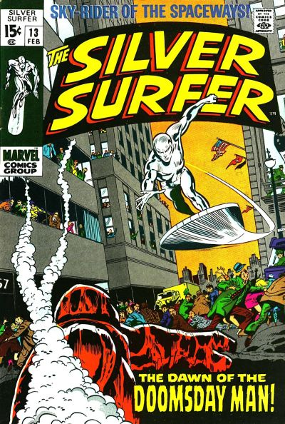 Cover for The Silver Surfer (Marvel, 1968 series) #13 [British]