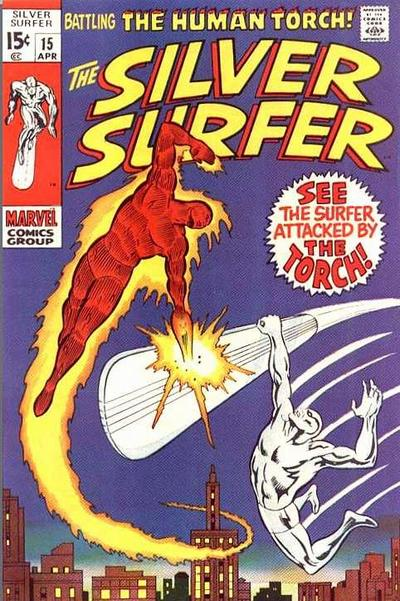 Cover for The Silver Surfer (Marvel, 1968 series) #15