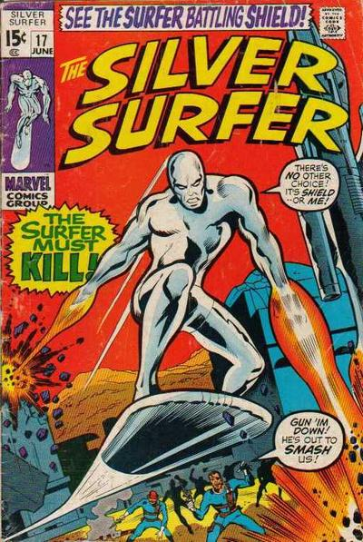 Cover for The Silver Surfer (Marvel, 1968 series) #17