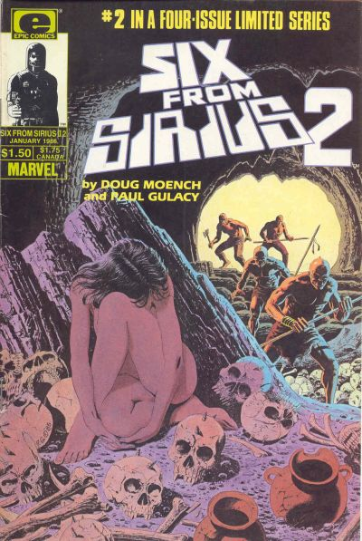 Cover for Six from Sirius 2 (Marvel, 1985 series) #2