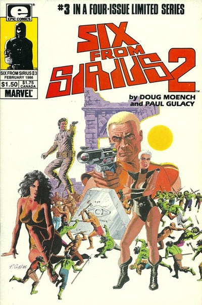Cover for Six from Sirius 2 (Marvel, 1985 series) #3