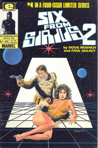 Cover for Six from Sirius 2 (Marvel, 1985 series) #4