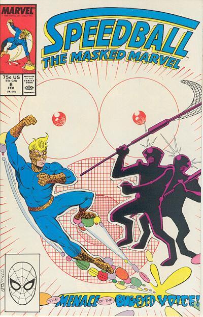 Cover for Speedball (Marvel, 1988 series) #6