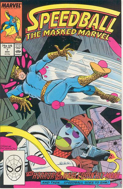 Cover for Speedball (Marvel, 1988 series) #7 [Direct Edition]