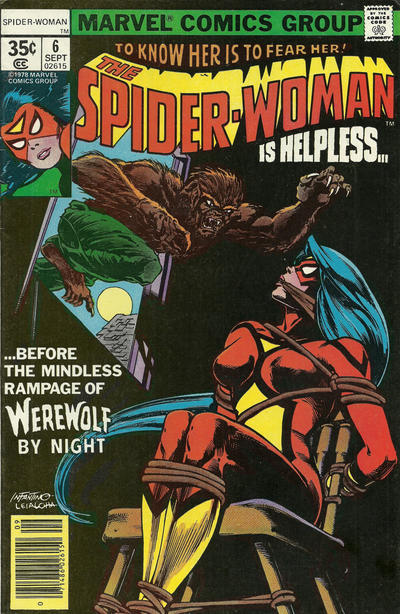 Cover for Spider-Woman (Marvel, 1978 series) #6