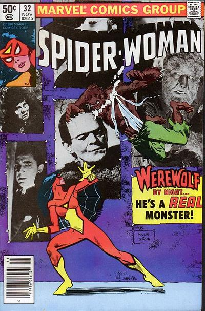 Cover for Spider-Woman (Marvel, 1978 series) #32 [British]