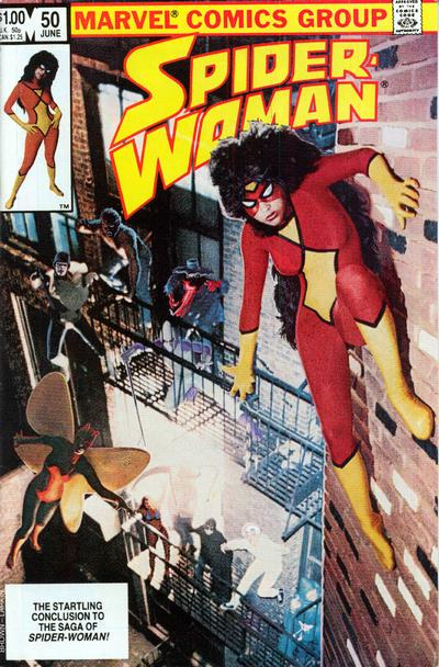Cover for Spider-Woman (Marvel, 1978 series) #50 [Newsstand]
