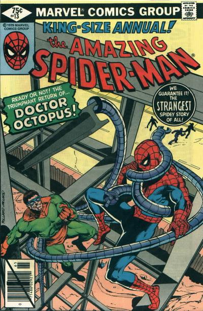 Cover for The Amazing Spider-Man Annual (Marvel, 1964 series) #13 [Direct Edition]