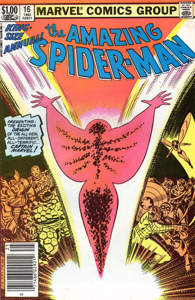 Cover for The Amazing Spider-Man Annual (Marvel, 1964 series) #16 [Direct Edition]
