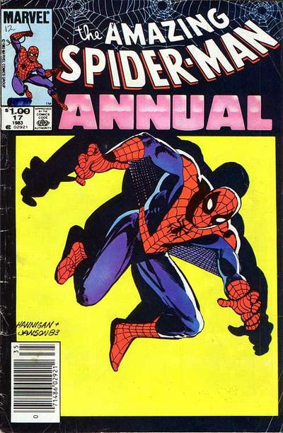 Cover for The Amazing Spider-Man Annual (Marvel, 1964 series) #17 [Direct Edition]