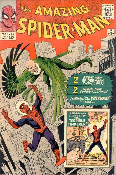 Cover for The Amazing Spider-Man (Marvel, 1963 series) #2 [Regular Edition]