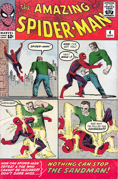 Cover for The Amazing Spider-Man (Marvel, 1963 series) #4 [British Price Variant]