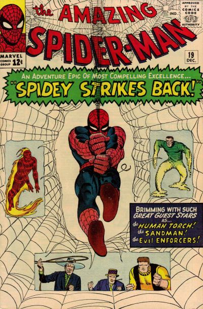 Cover for The Amazing Spider-Man (Marvel, 1963 series) #19