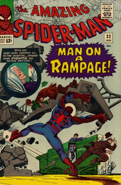 Cover for The Amazing Spider-Man (Marvel, 1963 series) #32 [Regular Edition]