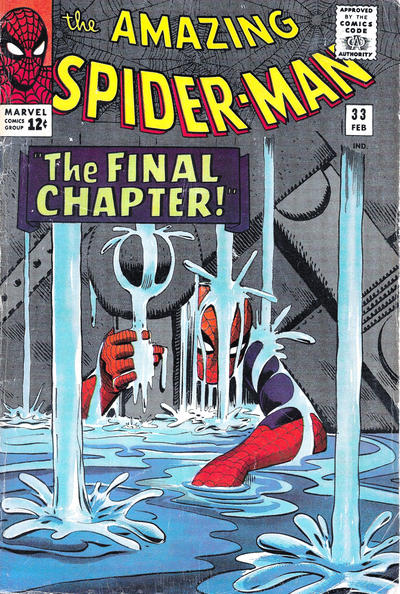Cover for The Amazing Spider-Man (Marvel, 1963 series) #33 [Regular Edition]