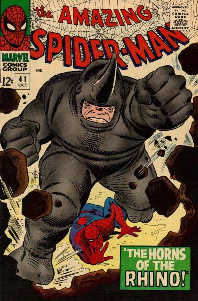 Cover for The Amazing Spider-Man (Marvel, 1963 series) #41 [Regular Edition]