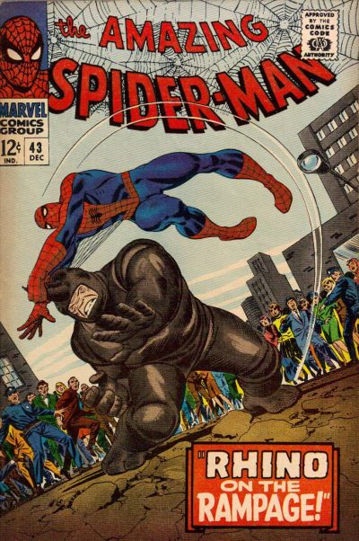 Cover for The Amazing Spider-Man (Marvel, 1963 series) #43