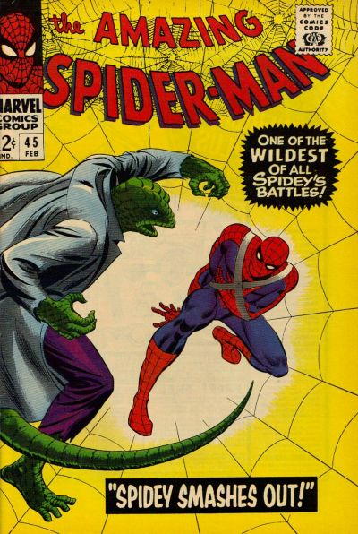 Cover for The Amazing Spider-Man (Marvel, 1963 series) #45