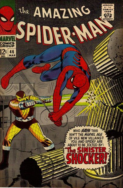 Cover for The Amazing Spider-Man (Marvel, 1963 series) #46 [Regular Edition]