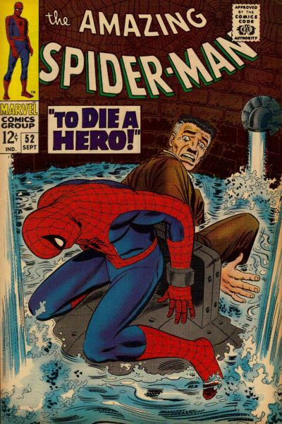 Cover for The Amazing Spider-Man (Marvel, 1963 series) #52 [Regular Edition]