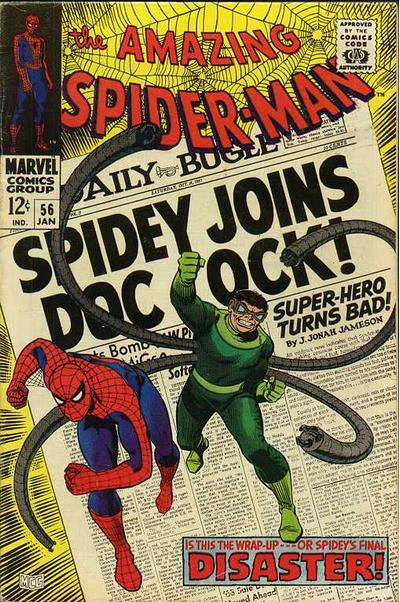 Cover for The Amazing Spider-Man (Marvel, 1963 series) #56