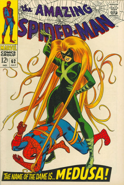 Cover for The Amazing Spider-Man (Marvel, 1963 series) #62