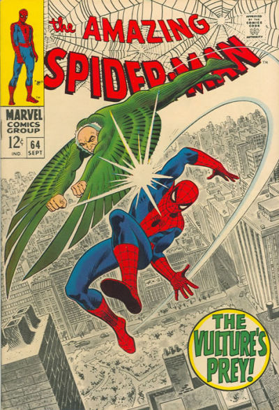 Cover for The Amazing Spider-Man (Marvel, 1963 series) #64