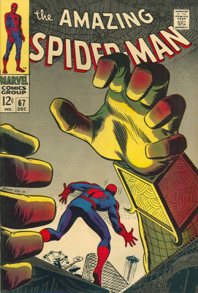 Cover for The Amazing Spider-Man (Marvel, 1963 series) #67