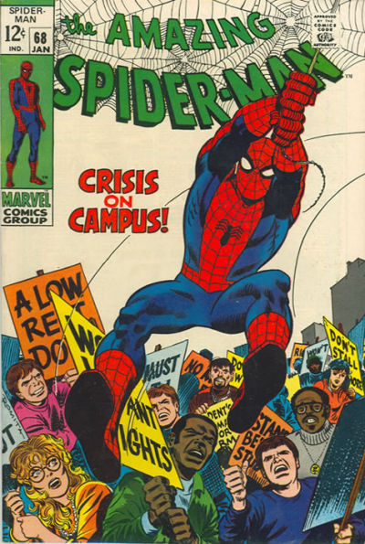 Cover for The Amazing Spider-Man (Marvel, 1963 series) #68