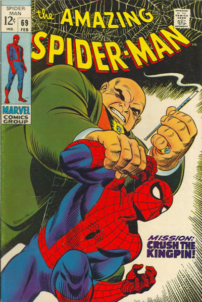 Cover for The Amazing Spider-Man (Marvel, 1963 series) #69