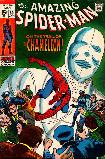 Cover for The Amazing Spider-Man (Marvel, 1963 series) #80 [Regular Edition]