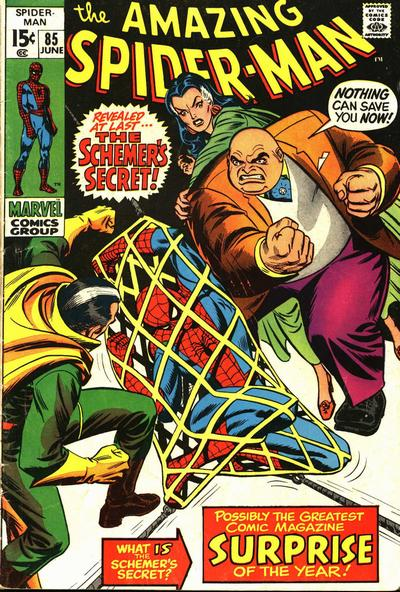 Cover for The Amazing Spider-Man (Marvel, 1963 series) #85 [Regular Edition]