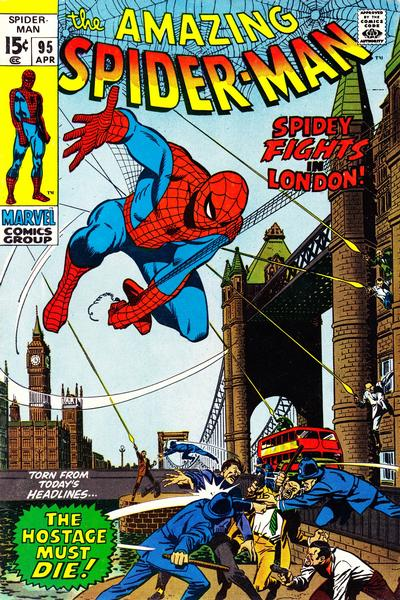 Cover for The Amazing Spider-Man (Marvel, 1963 series) #95 [Regular Edition]