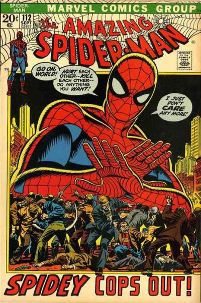 Cover for The Amazing Spider-Man (Marvel, 1963 series) #112 [Regular Edition]