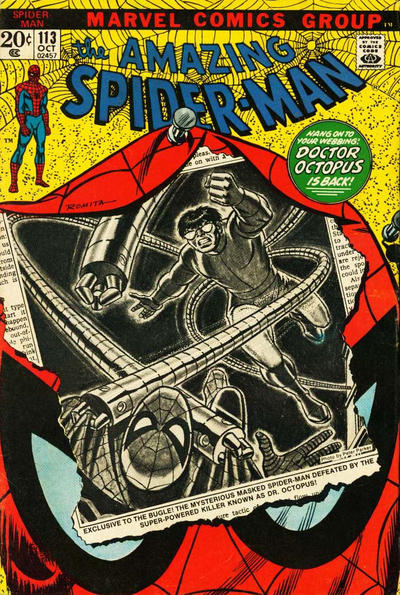 Cover for The Amazing Spider-Man (Marvel, 1963 series) #113 [Regular Edition]