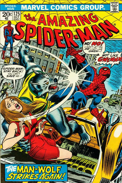 Cover for The Amazing Spider-Man (Marvel, 1963 series) #125