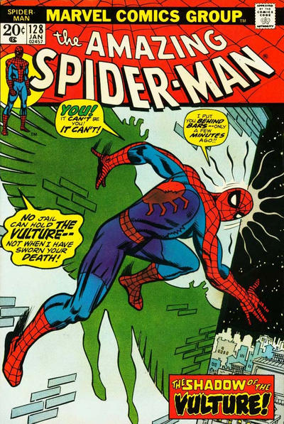 Cover for The Amazing Spider-Man (Marvel, 1963 series) #128