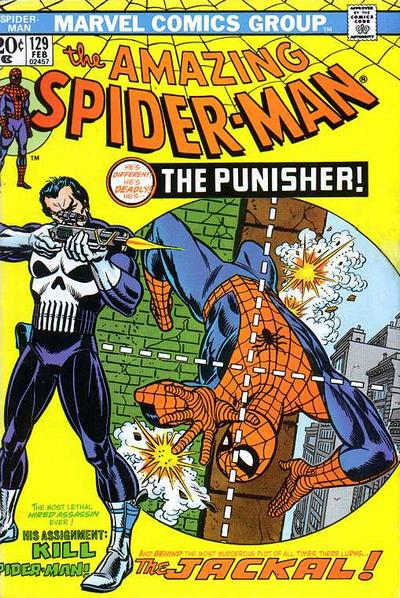Cover for The Amazing Spider-Man (Marvel, 1963 series) #129
