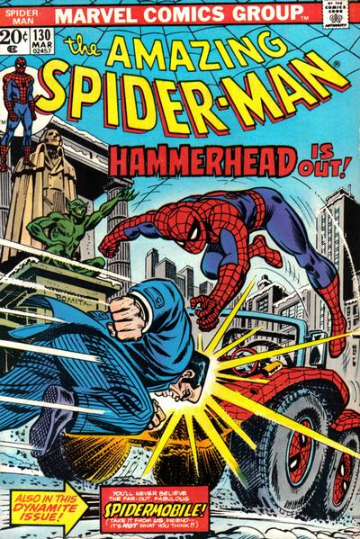 Cover for The Amazing Spider-Man (Marvel, 1963 series) #130