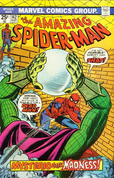 Cover for The Amazing Spider-Man (Marvel, 1963 series) #142