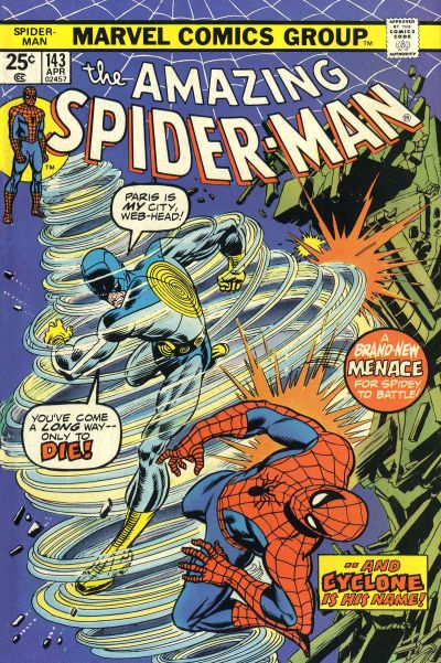 Cover for The Amazing Spider-Man (Marvel, 1963 series) #143