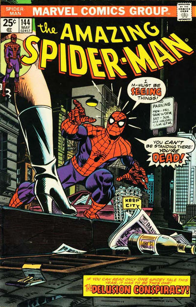 Cover for The Amazing Spider-Man (Marvel, 1963 series) #144